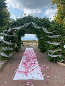 arco ingresso sposi lago reale bis