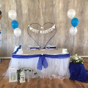 tavoli sposi lago reale salone blu